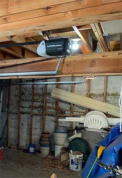 Old Garage Door Opener Replacement Near Williamsburg